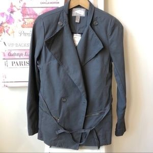 NEW Forever 21 Grey Casual Jacket Women's Size XS